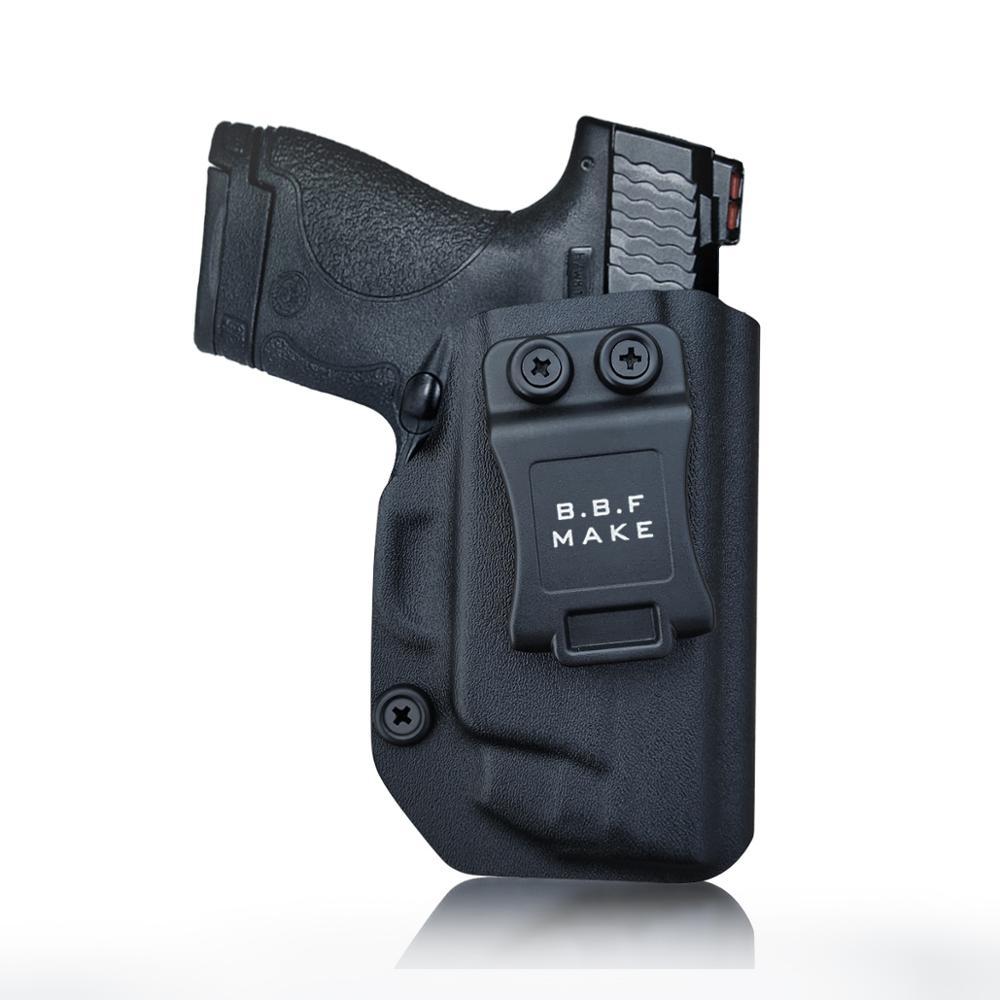B.B.F Make IWB KYDEX Holster Fits: M&P Shield 9MM/.40 s&w Laser Gun Holsters Concealed Carry Bag Guns Concealment Case